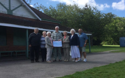 Mumbles OAPs invest in the green heart of the village