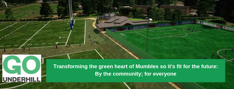 Overview of new facilities planned for Underhill Park
